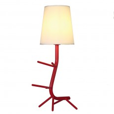 настолна лампа 7252 Sobremesa Rojo 1xE27 (Not Incl.)