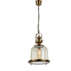 4971 Lamp 1L MEDIUM 1xE27 60W Antique Brass