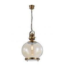 пендел 4974 Round Lamp 1L MEDIUM 1xE27 60W Antique Brass