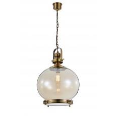4975 Round Lamp 1L BIG 1xE27 60W Antique Brass