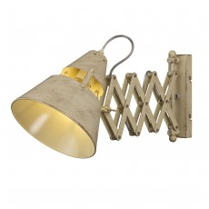 5434 WALL LAMP 1L Sand 1xE27 40W (No Inc)