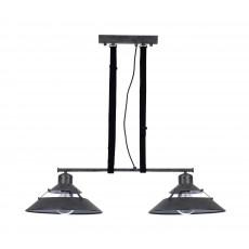 5443 DOUBLE Lamp 2L LINE BLACK OXIDE 2xE27 40W (No