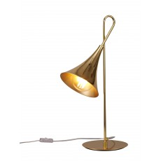 5909 TABLE LAMP 1L GOLD 1xE27 20W (No Inc)