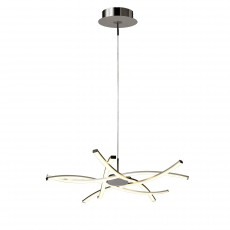 5914 Pend LED 42W/3000K (AIRE) Chrom/Silver