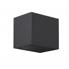 6516 1xGU10 max.10W (No Inc) DARK GREY Outdoor Squ