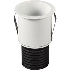 6857 WHITE MINI SPOT LED RECESSED 5W/3000K