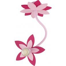 ^6893 FLOWERS PINK I kinkiet