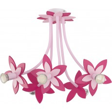 ^6896 FLOWERS PINK V plafon