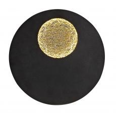 @7170 18W/3000K CEILING/WALL BLACK/GOLD GO&BLACK