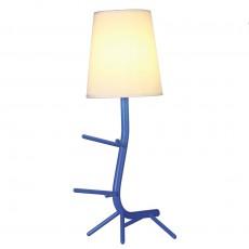 настолна лампа 7253 Sobremesa Azul 1xE27 (Not Incl.)