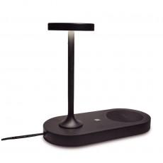 настолна лампа 7291 6W/3000K-Cargador De Induccion Telefonica Neg
