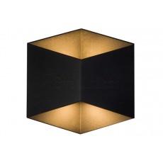 аплик, външна лампа 8142 TRIANGLES LED BLACK
