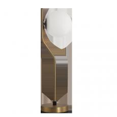 настолна лампа S81631O (8163 TL E27 1x20W Antique-Gold/Opal)