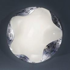 NU 9-390/40 Dekor-silber (2xE27)