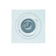 C0004 Alu 92*92*24mm GU10 50W incl. White