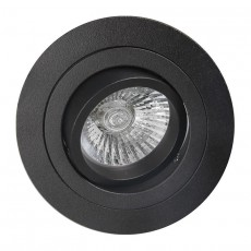 C0007 SPOT ROUND BLACK 1xGU10 max. 50W (No Inc.)