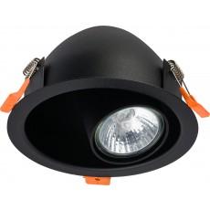 луничка / луна, спот лампа 8826 DOT BLACK