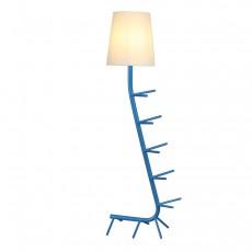 лампион / правостояща лампа 7257 Pie De Sal?n Azul 1xE27 (Not Incl.)