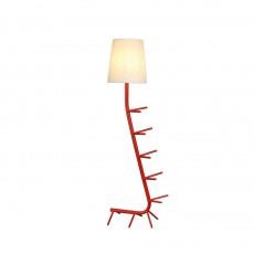 лампион / правостояща лампа 7256 Pie De Sal?n Rojo 1xE27 (Not Incl.)