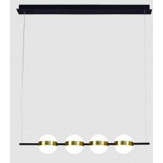 полилей 7161 LED 32W/3000K PENDANT LINE GOLD & BLACK
