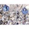 WA 2-843/2 chrom/blau  (2xE14)
