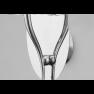 аплик 4635 Wall Lamp 1L Chrome/White Shade 1x13W E14