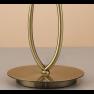 настолна лампа 4737 TL1 SMALL Antique Brass/White Shade 1x13W E14