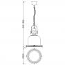 пендел 4970 Lamp 1L SMALL 1xE27 60W Antique Brass