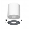 плафон, спот лампа ^6002 POINT WHITE SILVER / WHITE GRAPHITE L