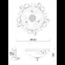 плафон C900-CL-03-R (CL900-03-R)