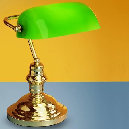 настолна лампа, спот лампа LA 4-587/1 MS/grun     (1xE27)