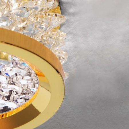луничка / луна Str 10-461 gold/EBL (exkl. GU10/50W)