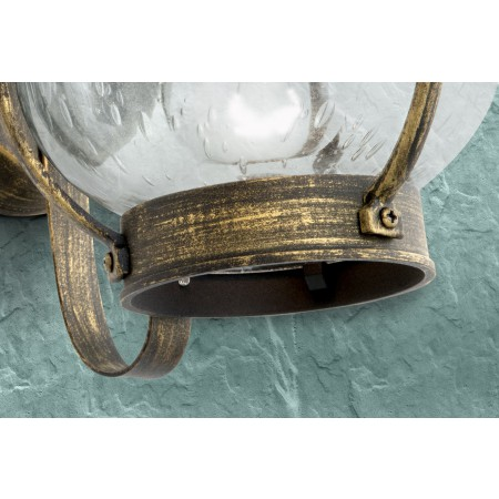 аплик, външна лампа AL 11-1165 Schwarz-Gold (1xЕ27)