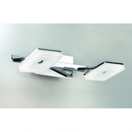 WA 2-1283/2 chrom (LED2x5W/950lm/3000K)