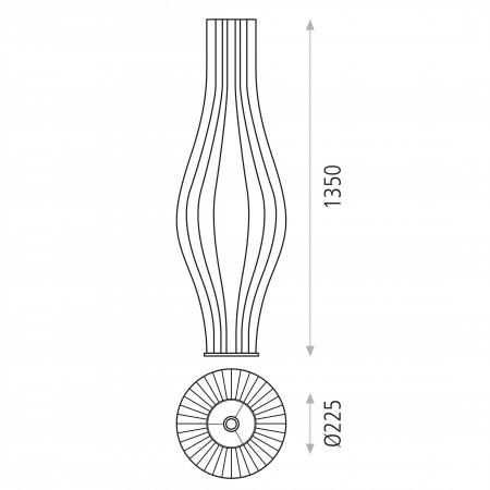 H30541PI (Floor   E27 Stone)
