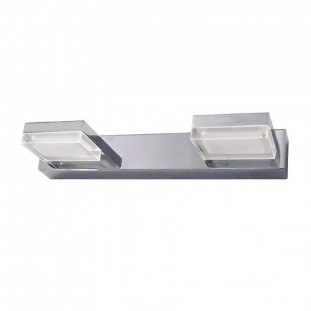 @4096/2 Chrom LED 2x3W3200K IP44 Reg