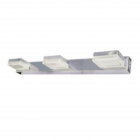 @4096/3 Chrom LED 3x3W/3200K IP44 Reg