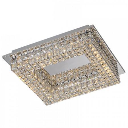 плафон ^4586 Square Celing 40x40sm LED 20W/4000K Chrom