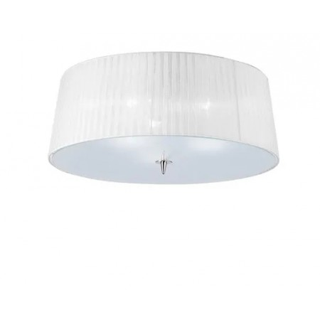 4640 Semiceling Lamp 3L Chrom/White 3x13 E27