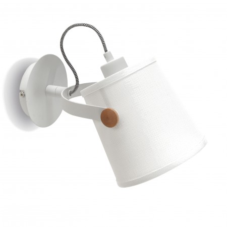 4924 Wall lamp 1L WHITE 1xE27 23W