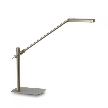 настолна лампа ^4948 TL LED 7W/3000K Satin/Nickel Dimable