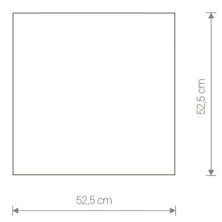 ^4978 OSAKA SQUARE WHITE L