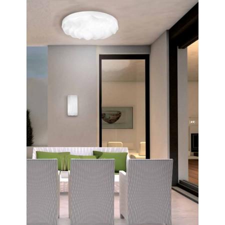 аплик, външна лампа ^5047 White IP44 LED 8W/3000K