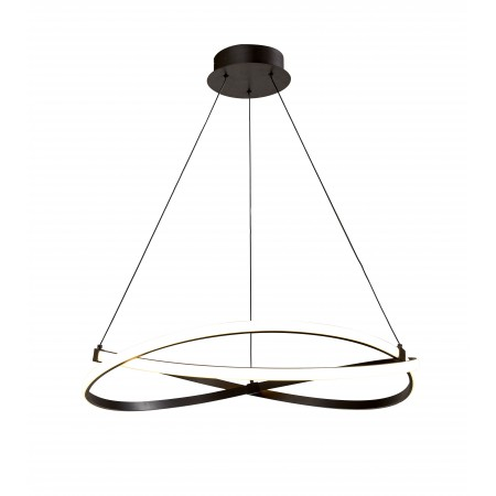 5390 INFINITY BROWN OXIDE SMALL PENDANT 42W/2800K