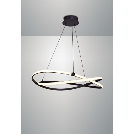 5391 INFINITY BROWN OXIDE BIG PENDANT 60W/2800K