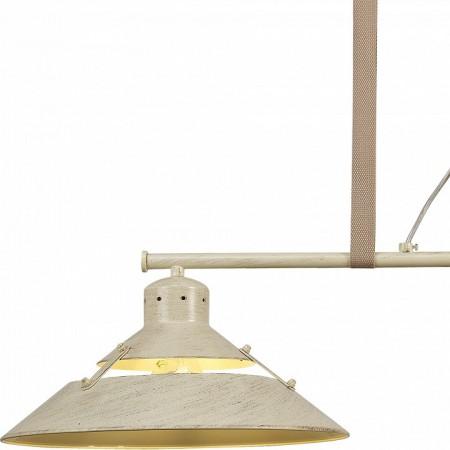 5433 DOUBLE LAMP 2L Line Sand 2xE27 40W (No Inc)