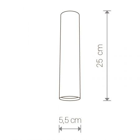 спот лампа 5464 EYE graphite M