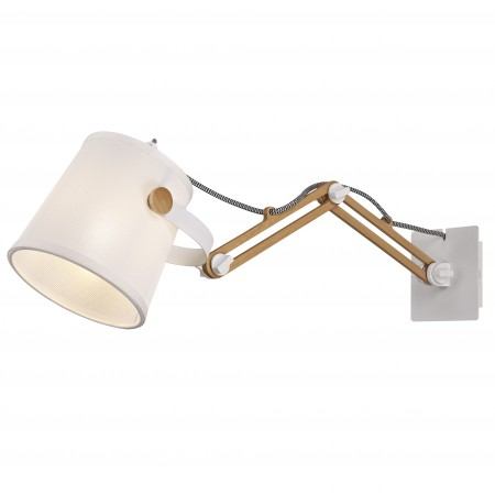 5466 NORDICA WALL LAMP DOUBLE 1xE27 23W