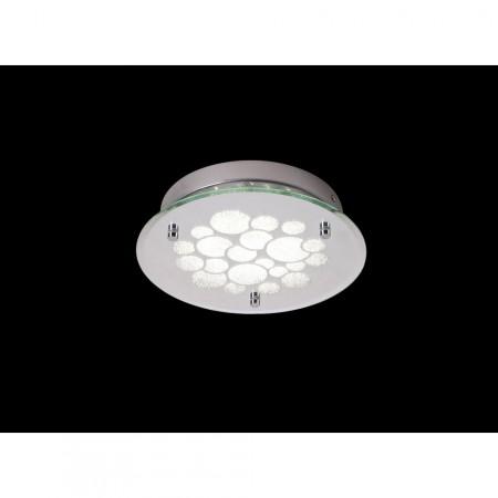 ^5553 ROUND CHROME LED 15.5W/4000K