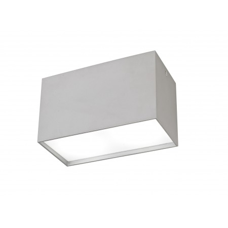 ^5630 CEILING 2L SILVER 2xGU10 40W (No Inc)